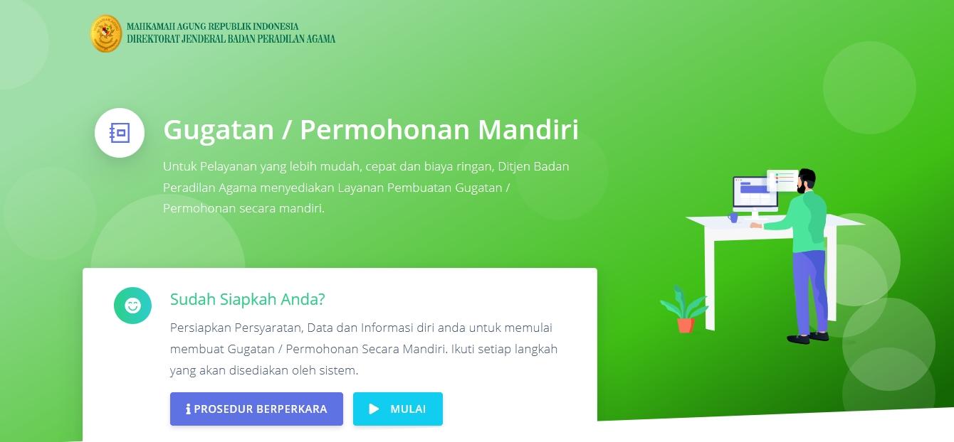 GUGATAN MANDIRI / PERMOHONAN MANDIRI